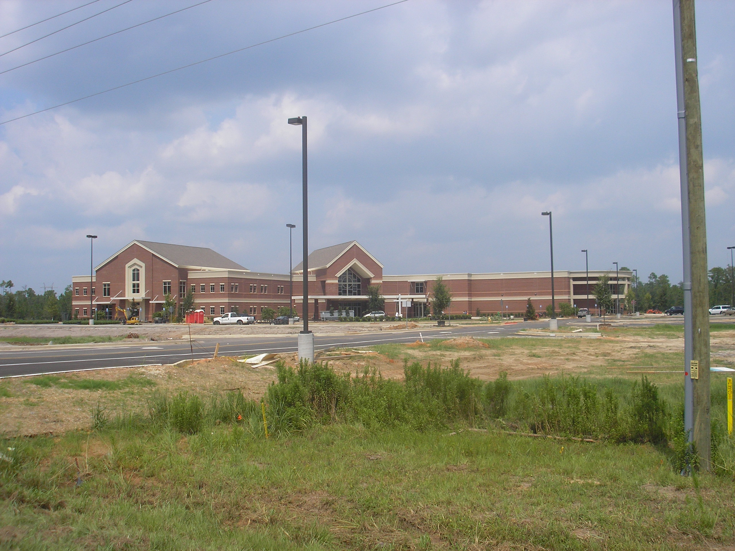 First Baptist Church Gulfport post-Katrina location