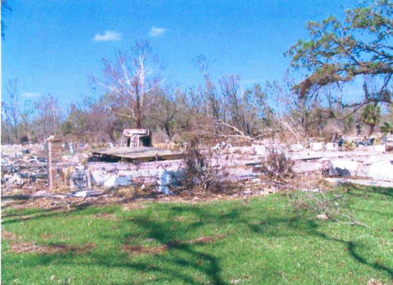 Politz slab of neighbor Faulk