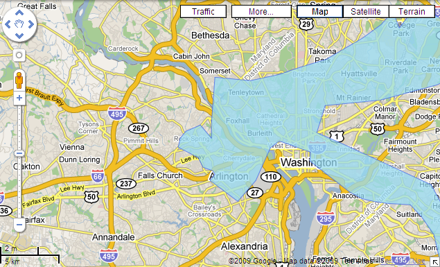 wdc flood projection