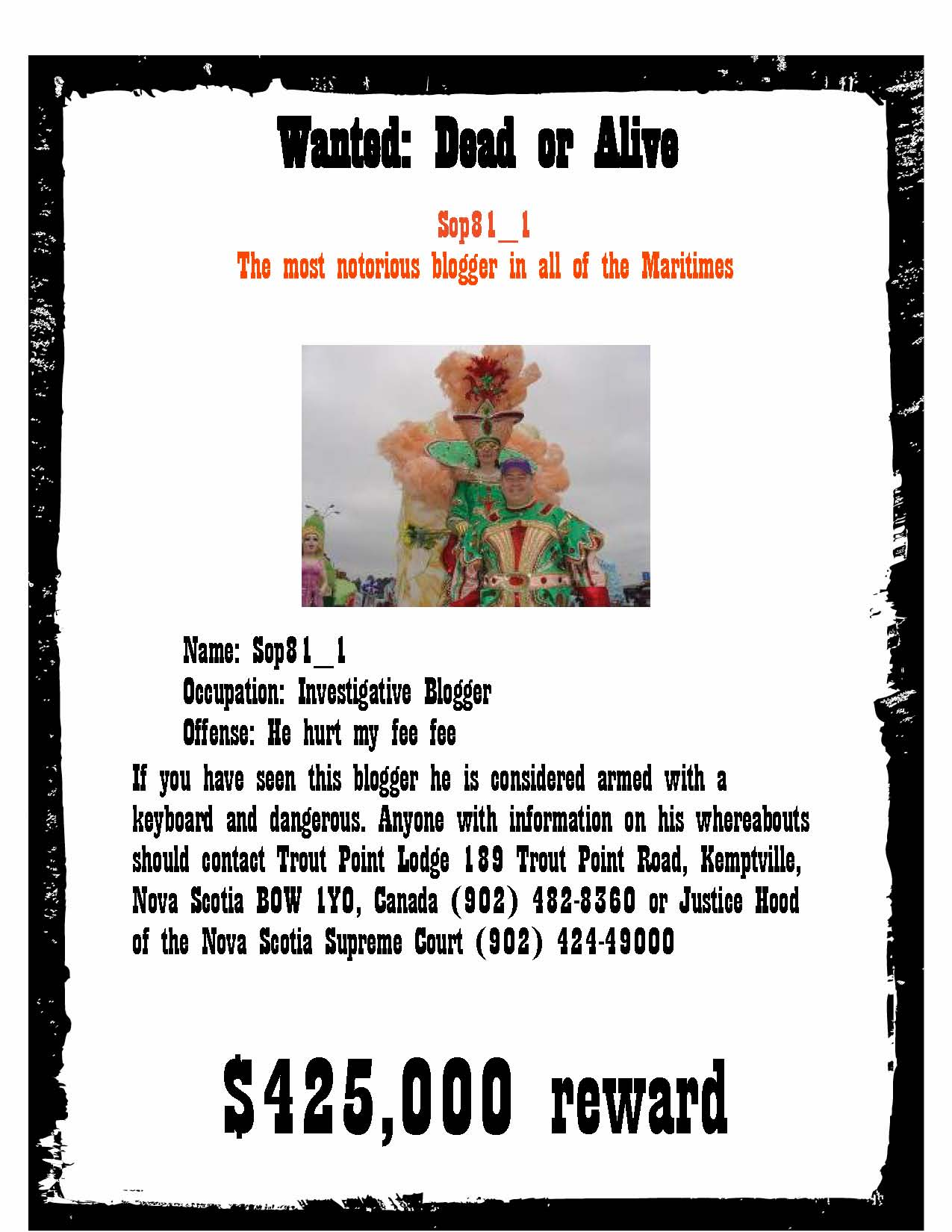 12 Blank Wanted Posters  Free Printable Word PDF