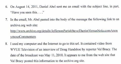TPL v Fox 8 Affidavit of Charles Leary 10-7-11a