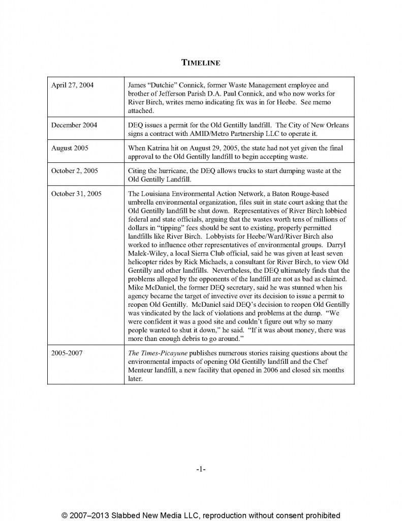 Timeline_7th Draft_With Connick Memo_Page_1