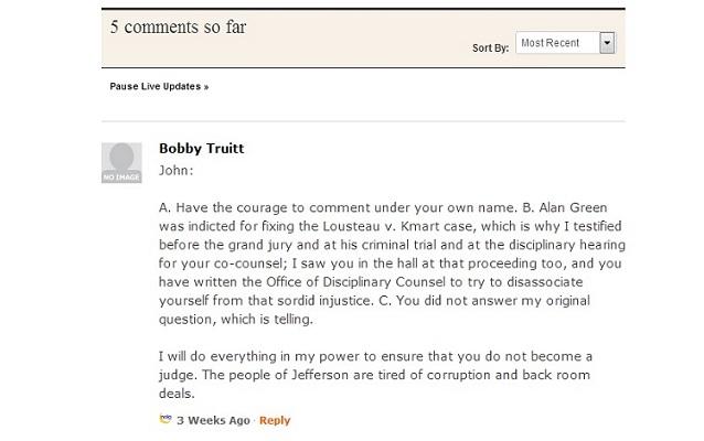 NOLA.com comment excerpt