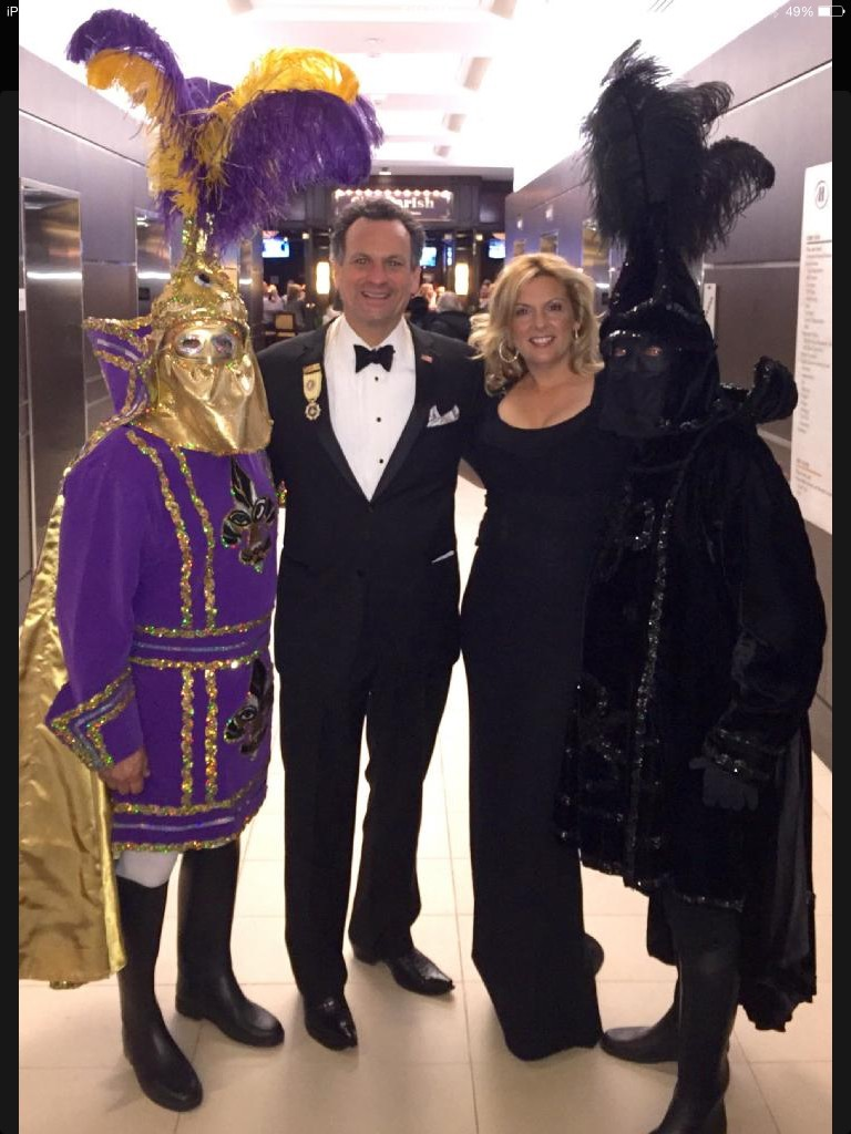 Reader Submitted Photo | Jefferson Parish Prez John Young, with Julie Quinn at the Washington DC Louisiana Mardi Gras Ball