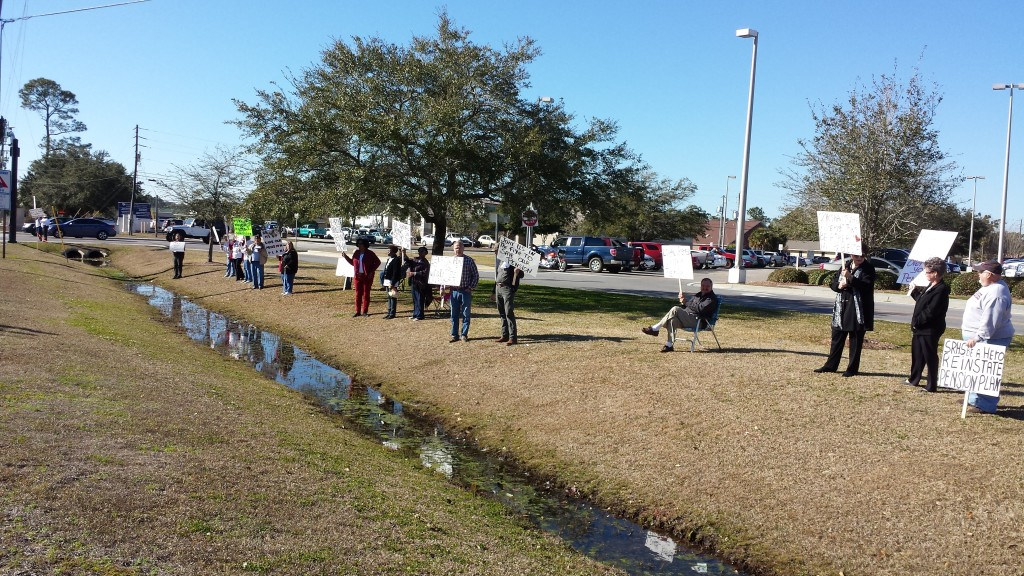 Slabbed New Media LLC File Photo | Ocean Springs Hospital Protest