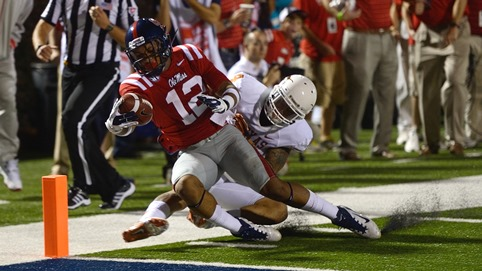 Ole Miss vs Texas.  Photo by Kevin Bain/Ole Miss Communications