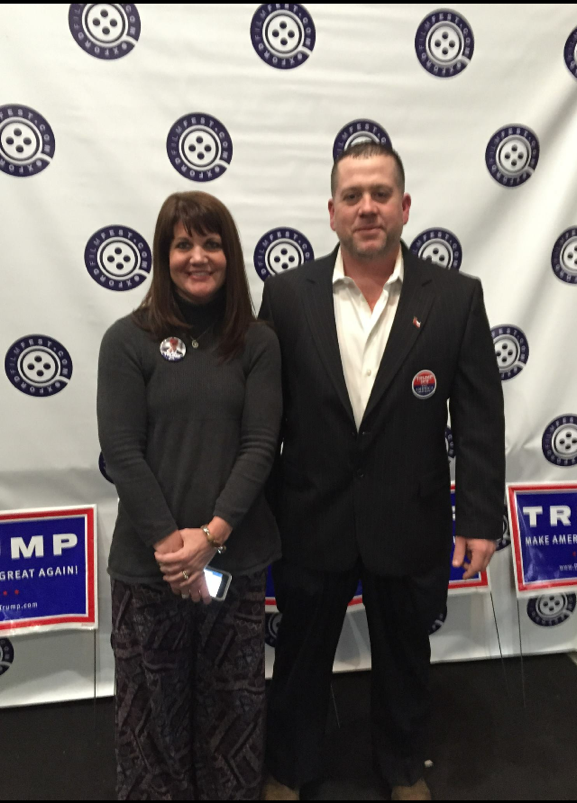 Reader Submitted Photo | Mississippi GOP Executive Committee Member Heather Fox with Kendall Prewett at a Donald Trump for President Event