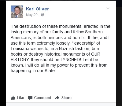 Karl Oliver Lynching