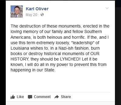 Karl Oliver Lynching